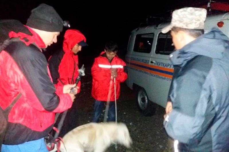 Турист заблудился в районе Большого алматинского пика