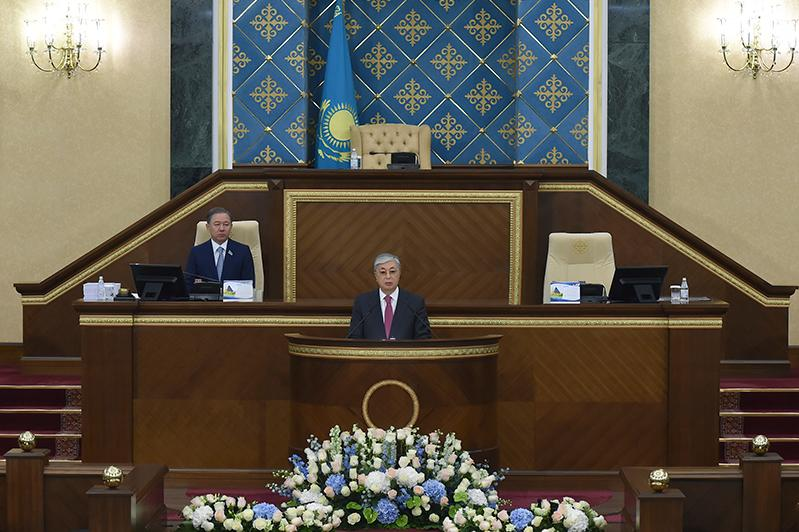 President of Kazakhstan Kassym-Jomart Tokayev's State of the Nation Address 'Constructive public dialogue - the basis of stability and prosperity of Kazakhstan'
