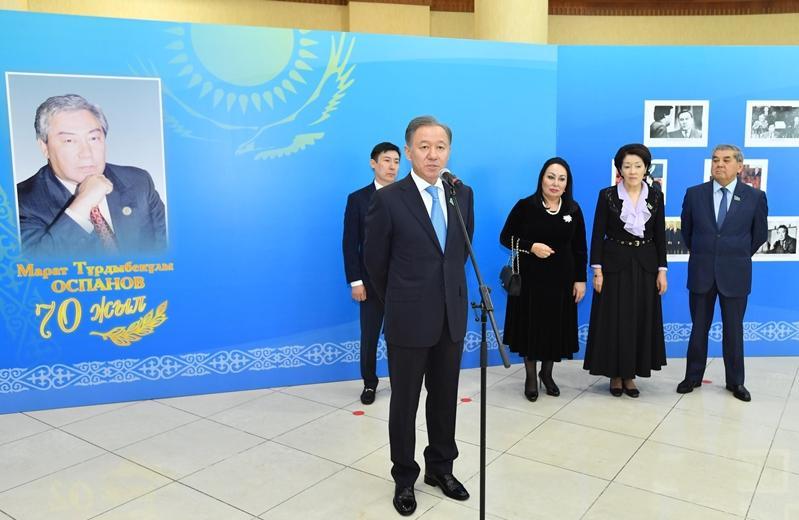 В Мажилисе почтили память государственного деятеля Казахстана Марата Оспанова