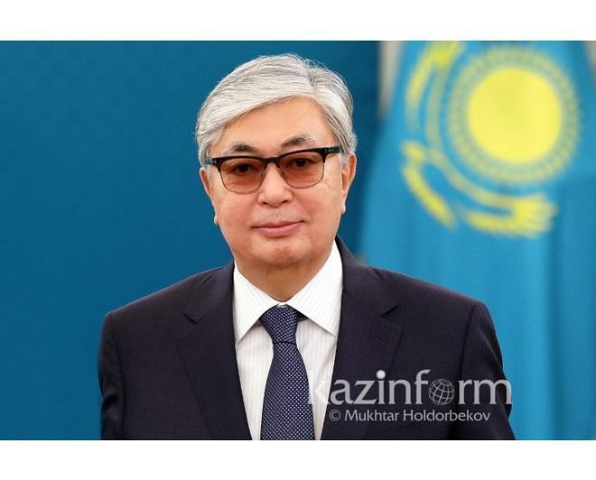 托卡耶夫总统对北哈州进行工作视察