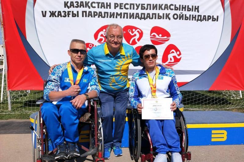 Сборная Карагандинской области лидировала на Паралимпийских играх Казахстана