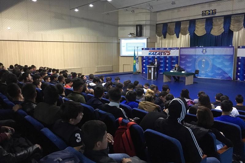 Алматыда 250 студентке діни сенімге қатысты заңдардың нормалары түсіндірілді