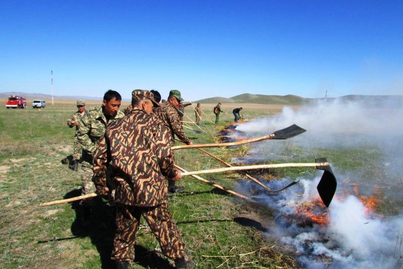 Пожарные посты откроют в трех отдаленных селах Жамбылской области