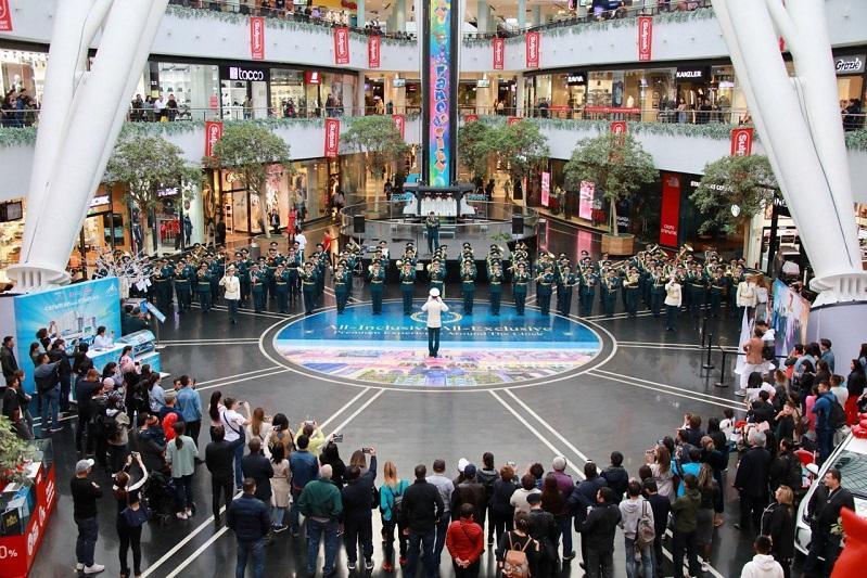 Лучшие военные оркестры состязаются в музыкальном мастерстве в столице Казахстана