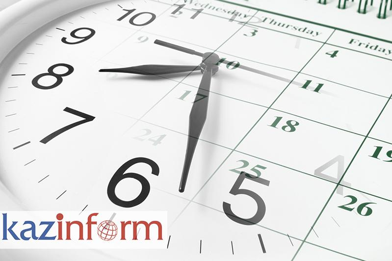 September 18. Kazinform's timeline of major events