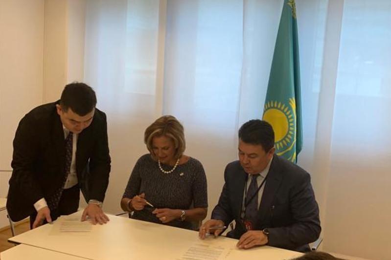 Kazakhstan, U.S. signed joint statement on HEU minimization