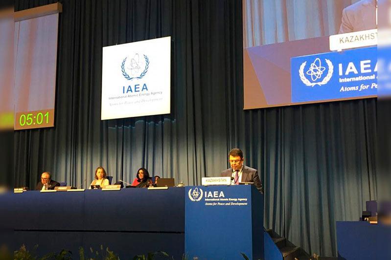 Канат Бозумбаев провел ряд встреч на полях 63-й сессии Генеральной конференции МАГАТЭ