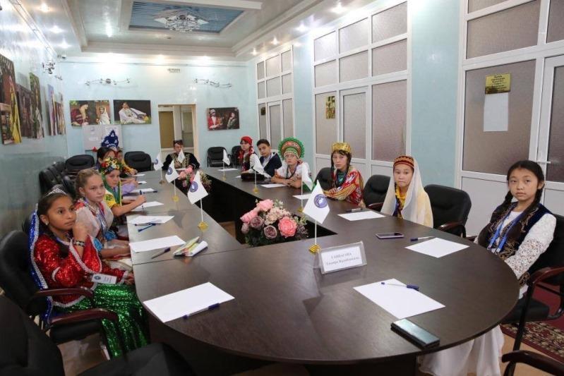 Юные костанайцы соревновались в знании казахского языка