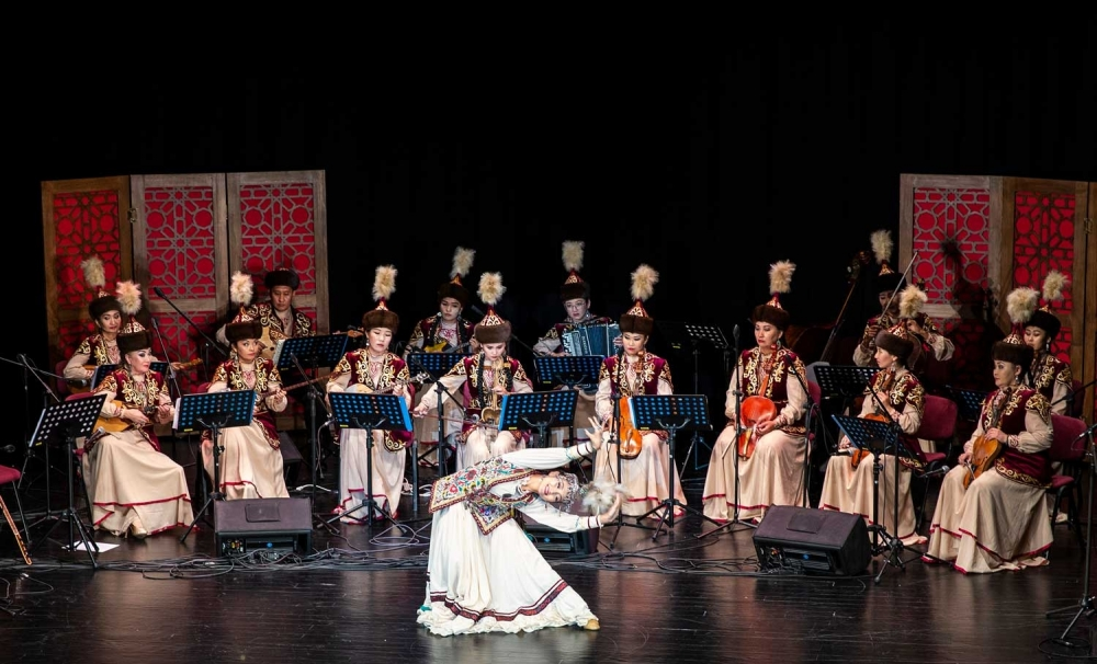 Nur-Sultan Orchestra of Traditional Instruments gives concert in Bursa