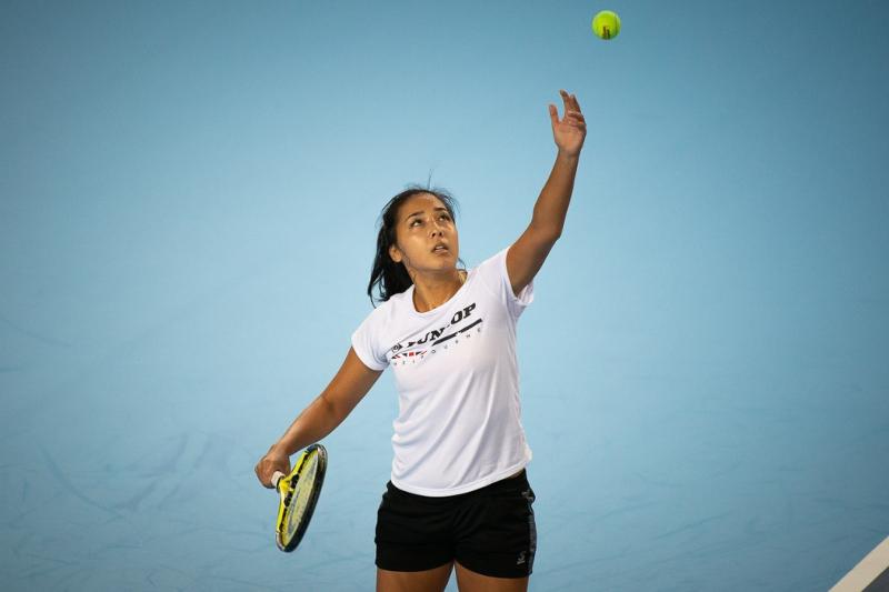Kazakhstan's Diyas left Toray Pan Pacific Open