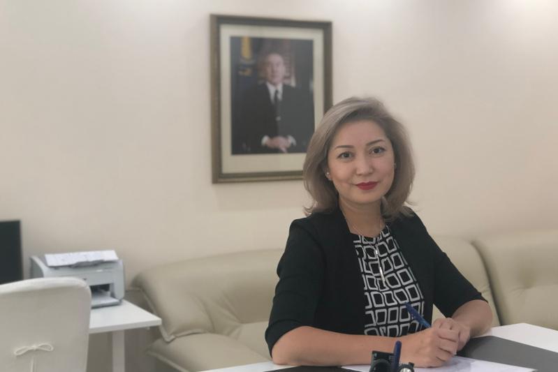 Акерке Ахметова назначена вице-министром юстиции РК