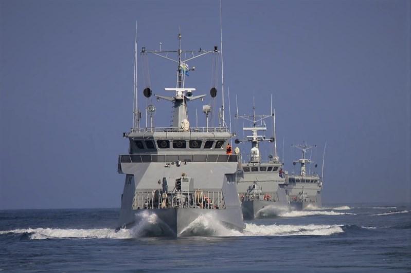 哈俄在里海海域举行联合海上军演