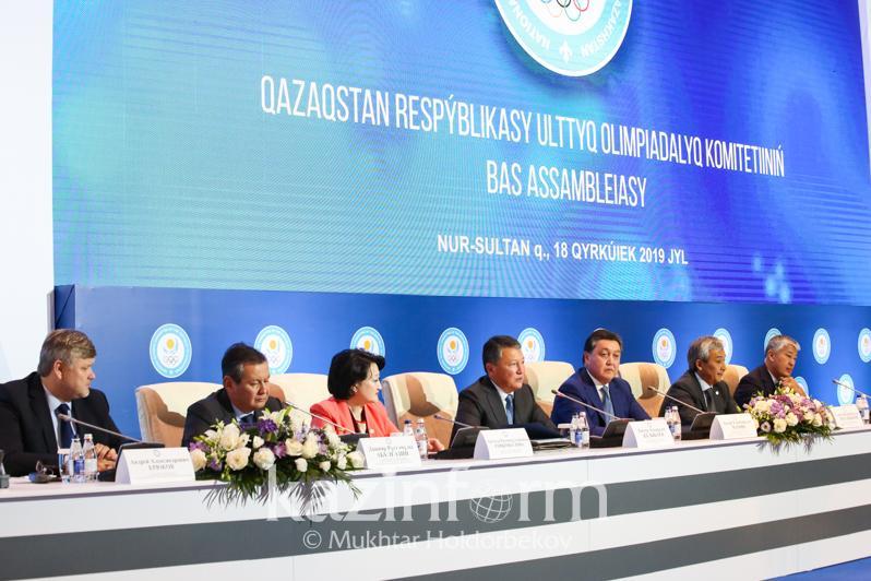 Повысить статус спортсмена намерены в Казахстане