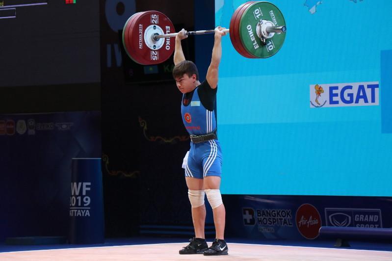 Ауыр атлетикадан әлем чемпионатында Қазақстан қоржынына күміс жүлде түсті