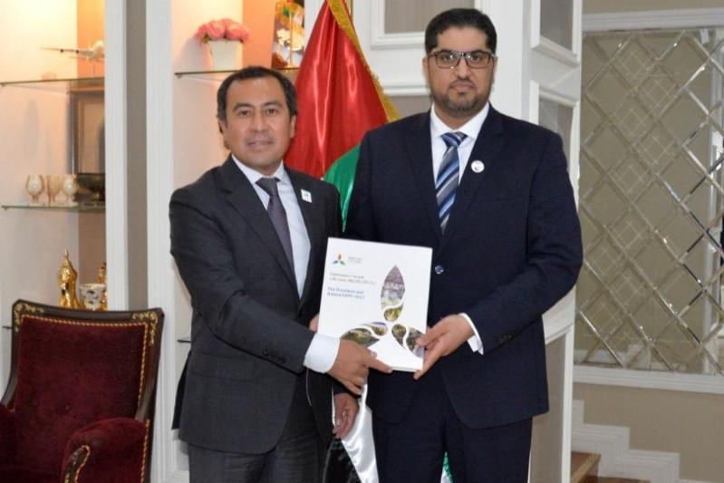 UAE Ambassador meets with Commissioner-General of Kazakh Pavilion at Expo 2020 Dubai