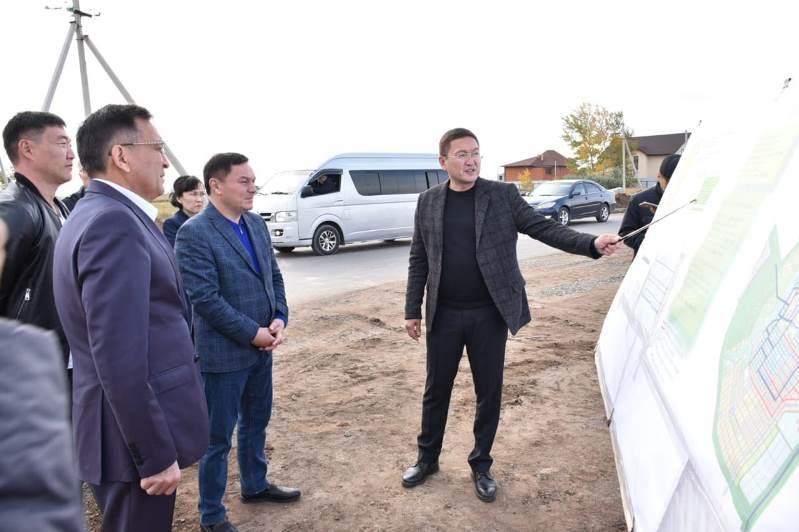 Аким Акмолинской области посетил Целиноградский район