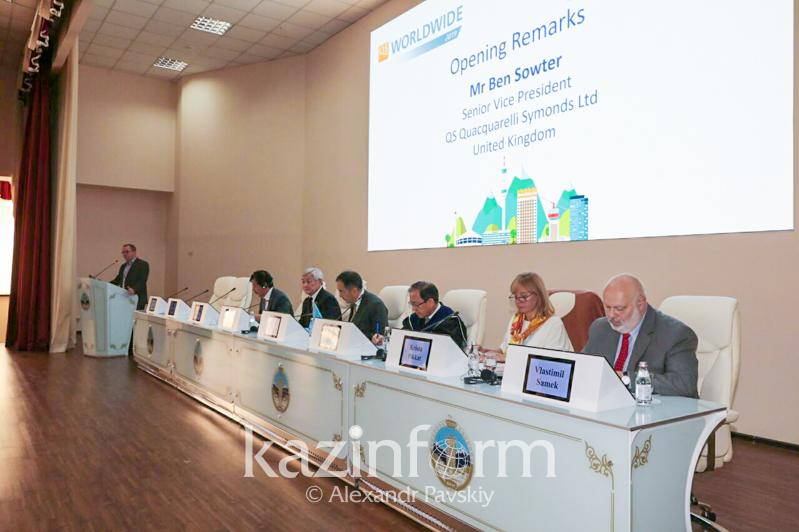 Almaty welcomes QS World Wide Conference