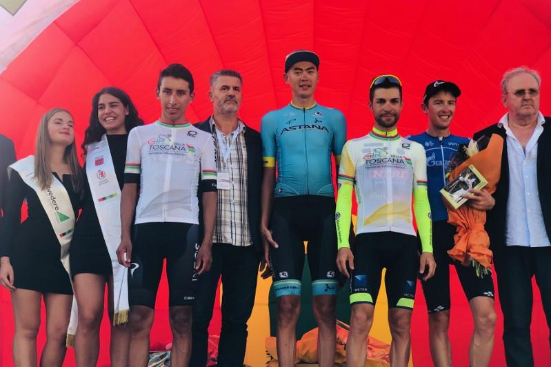 Astana's Bizhigitov wins mountain classification of Giro Della Toscana
