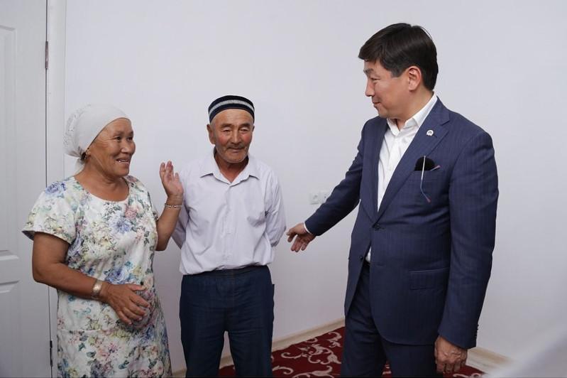Бауыржан Байбек посетил Арысь, где проверил ход восстановительных работ
