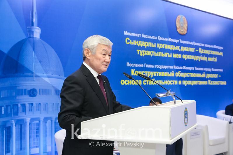 Бердибек Сапарбаев провел встречу с общественностью города Алматы