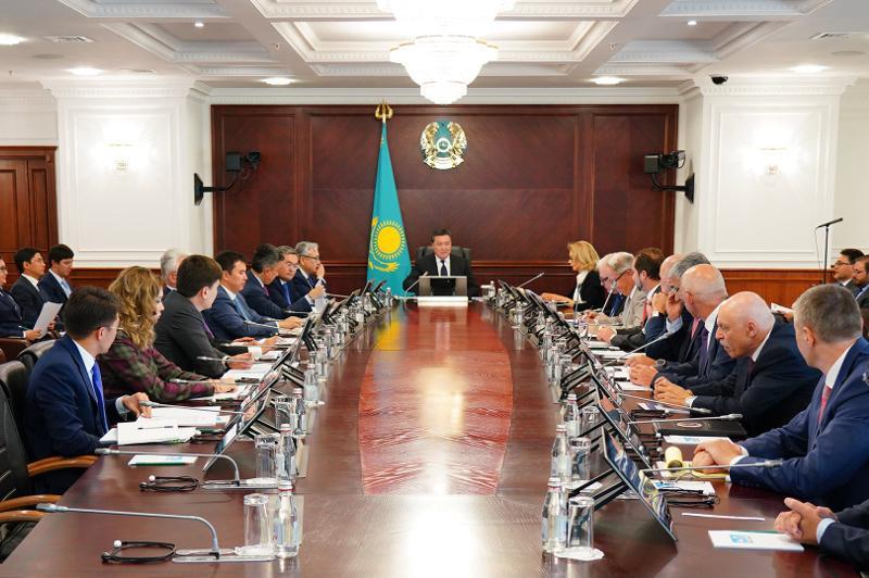 Премьер-Министр РК провел заседание Совета по улучшению инвестиционного климата