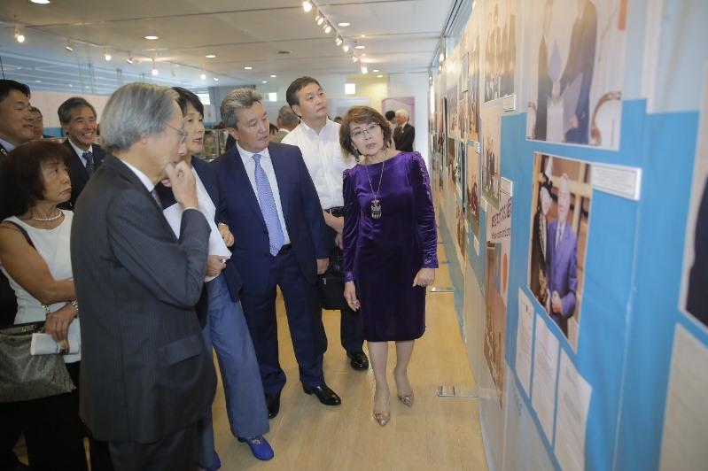 Elbasy Library exhibition unveils in Tokyo