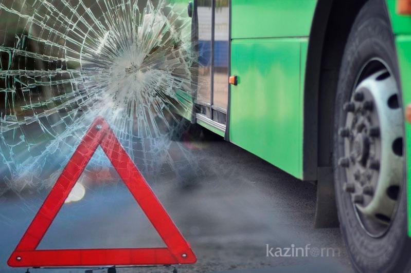 Более 300 ДТП по вине водителей автобусов произошло в этом году в Казахстане
