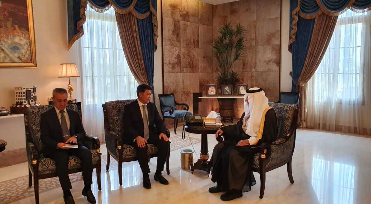 Ambassador Berik Aryn thanks Emir of Mecca Province for assistance to Kazakh pilgrims