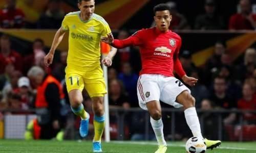 Как завершился первый тайм матча «Манчестер Юнайтед» — «Астана» в Лиге Европы