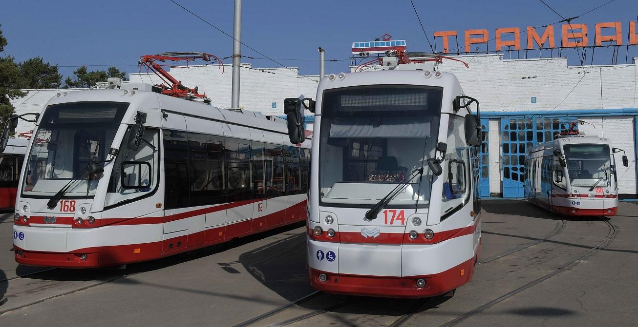 Павлодарға Беларусьтан жаңа трамвайлардың соңғы партиясы жеткізілді