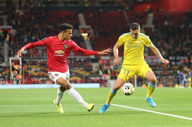 «Астана» проиграла «Манчестер Юнайтед»