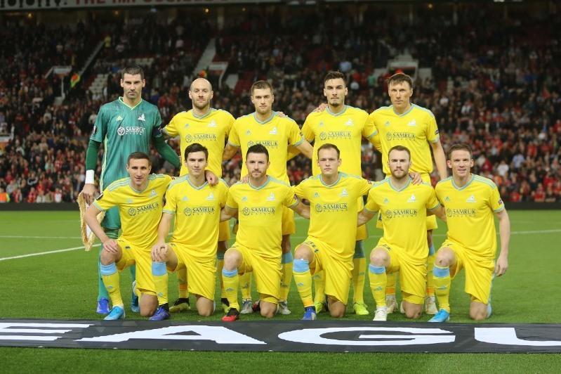 欧联杯:阿斯塔纳球队客场0:1负于曼联