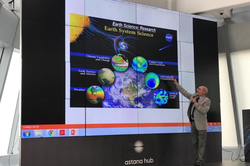 NASA计划在哈设立中亚区域信息中心