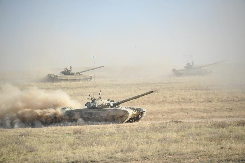 Военнослужащие уничтожили условного противника на востоке Казахстана
