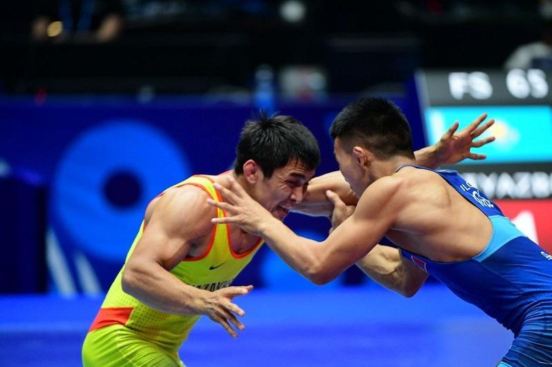 Күрестен ӘЧ: Дәулет Ниязбеков күміс медаль иегері атанды