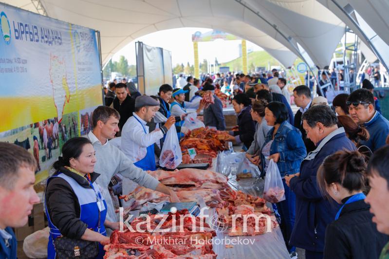 В столице проходят сельхозярмарки Актюбинской и Кызылординской областей