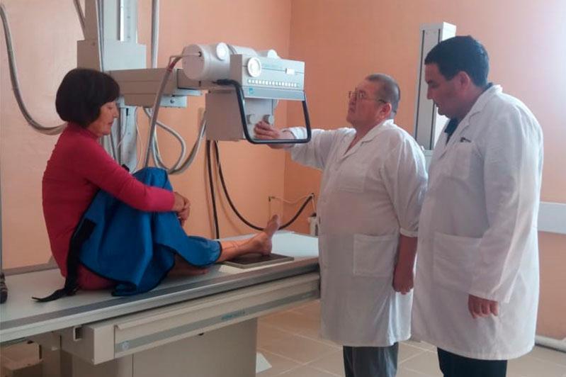 Цифровой рентген-аппарат за 33 млн тенге установили в Акмолинской области