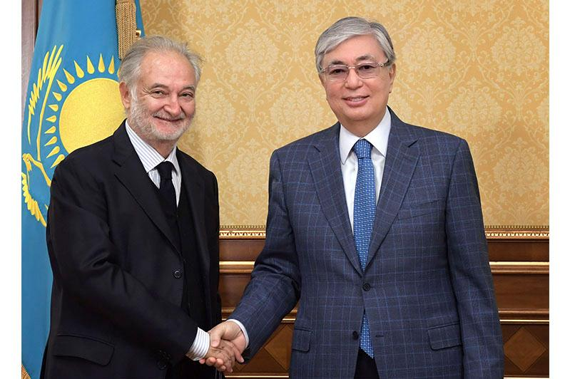 President Tokayev receives prominent French politician Jacques Attali
