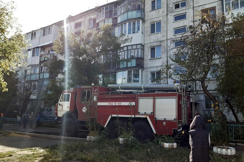 20 people evacuated due to fire in Petropavlovsk