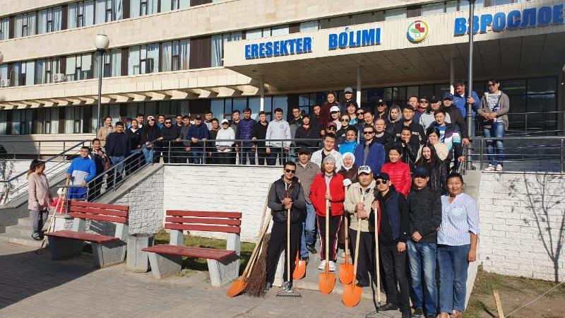 Свыше 35 тысяч жителей столицы приняли участие в акции «Всемирный день чистоты»