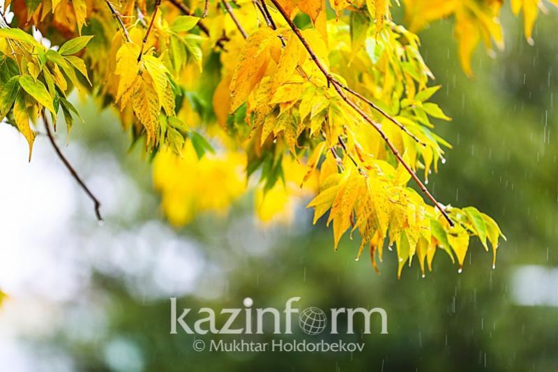Kazhydromet predicts unstable weather Sept 22