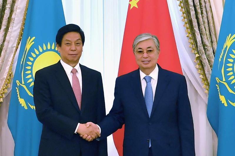 Мемлекет басшысы Ли Чжаньшумен кездесті
