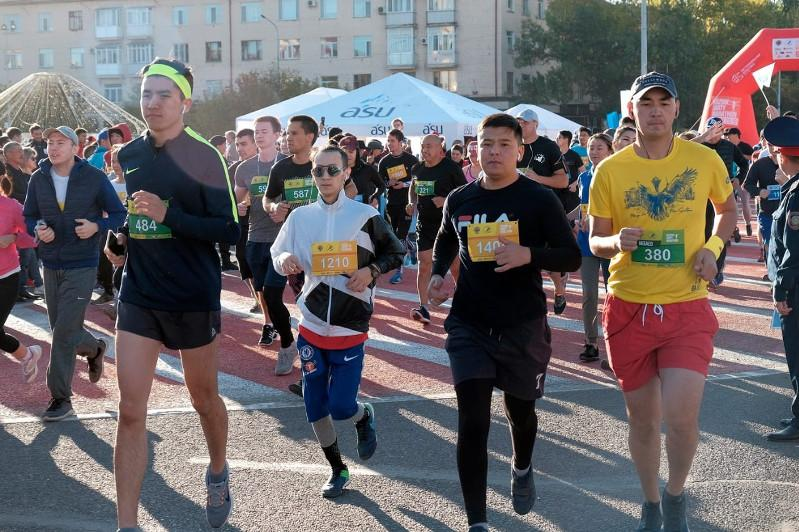 Полумарафон Kúzdik Jarty Marathon прошёл в Караганде
