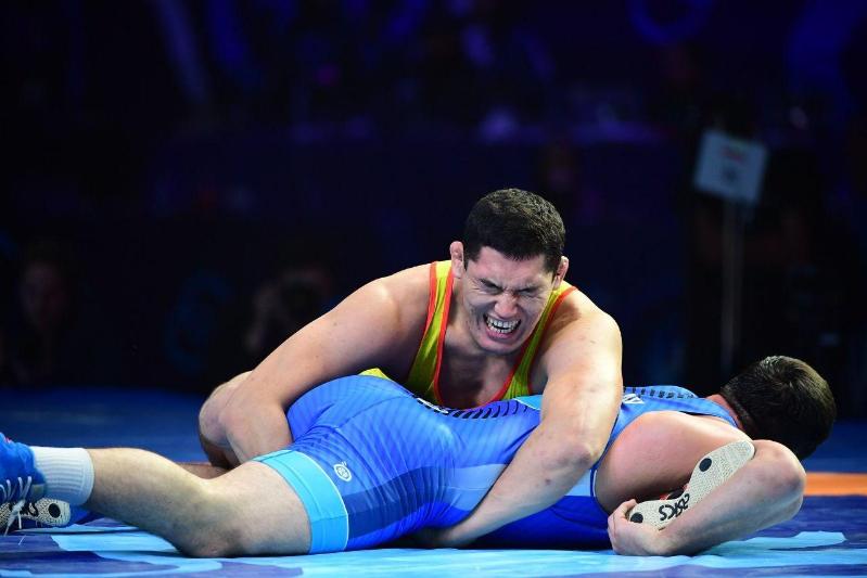 Алишер Ергали занял пятое место на ЧМ по вольной борьбе