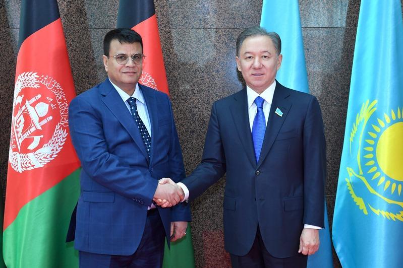Speakers of Kazakh Majilis and Wolesi Jirga of Afghanistan discuss inter-parliamentary coop