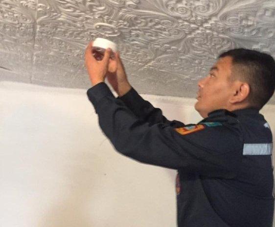 Датчики угарного газа устанавливают в домах малообеспеченных и многодетных семей в ВКО