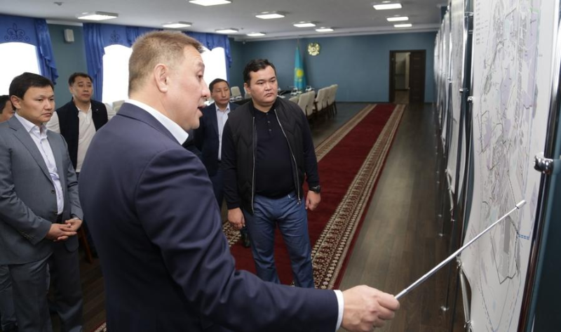 Достроить детскую больницу в Караганде потребовал Женис Касымбек