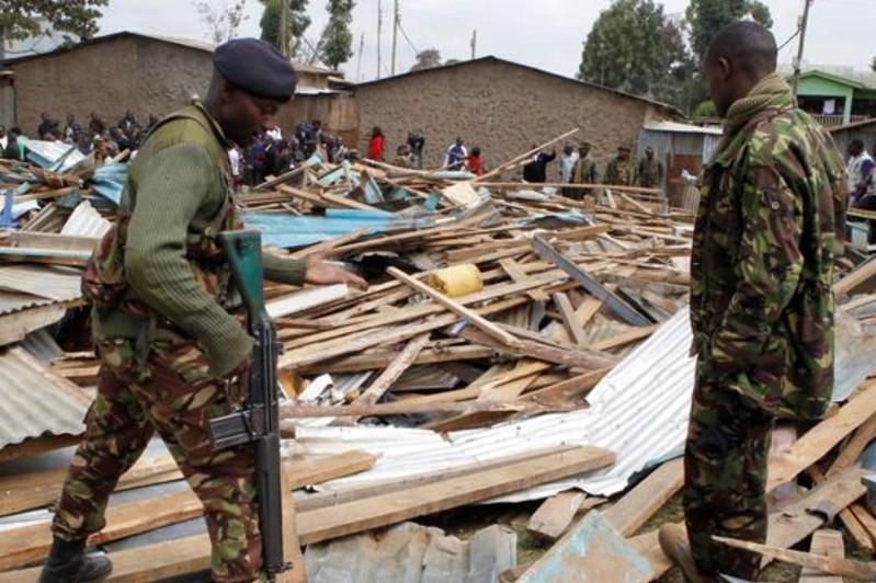 肯尼亚一学校坍塌 致至少7名孩童死亡57人受伤