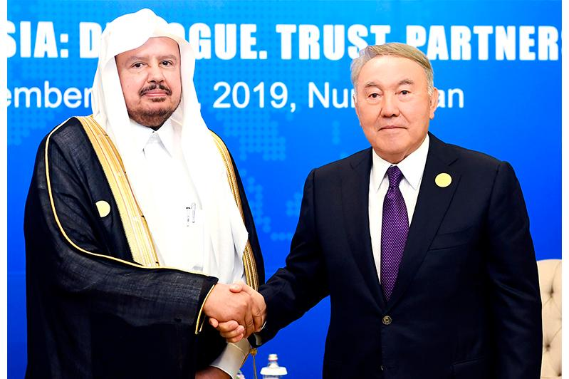 Елбасы Сауд Арабиясы Корольдігінің аш-Шура Меджлисінің Спикерімен кездесті