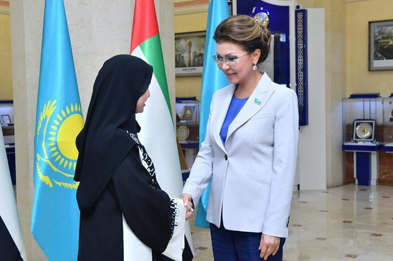 Глава Сената провела встречу с председателем Федерального национального совета ОАЭ